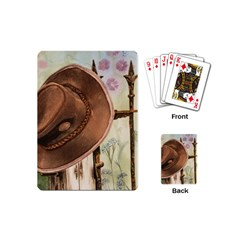 Hat On The Fence Playing Cards (Mini)