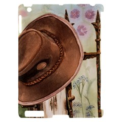 Hat On The Fence Apple iPad 2 Hardshell Case (Compatible with Smart Cover)
