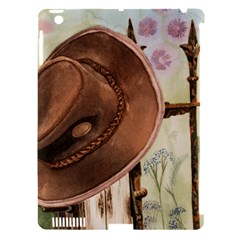 Hat On The Fence Apple iPad 3/4 Hardshell Case (Compatible with Smart Cover)