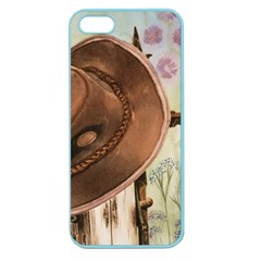 Hat On The Fence Apple Seamless Iphone 5 Case (color)