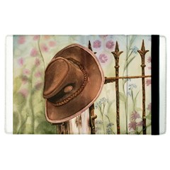 Hat On The Fence Apple iPad 3/4 Flip Case