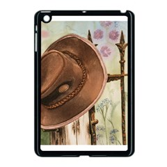 Hat On The Fence Apple iPad Mini Case (Black)