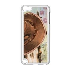 Hat On The Fence Apple iPod Touch 5 Case (White)
