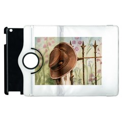 Hat On The Fence Apple iPad 3/4 Flip 360 Case