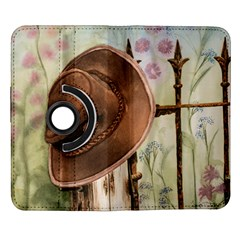 Hat On The Fence Samsung Galaxy Note II Flip 360 Case