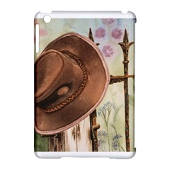 Hat On The Fence Apple iPad Mini Hardshell Case (Compatible with Smart Cover)