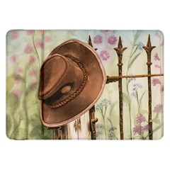 Hat On The Fence Samsung Galaxy Tab 8.9  P7300 Flip Case