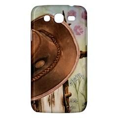 Hat On The Fence Samsung Galaxy Mega 5 8 I9152 Hardshell Case