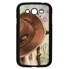 Hat On The Fence Samsung Galaxy Grand Duos I9082 Case (black)