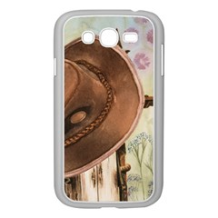 Hat On The Fence Samsung Galaxy Grand DUOS I9082 Case (White)
