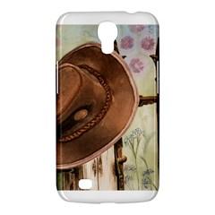 Hat On The Fence Samsung Galaxy Mega 6.3  I9200 Hardshell Case