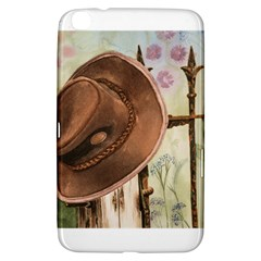 Hat On The Fence Samsung Galaxy Tab 3 (8 ) T3100 Hardshell Case