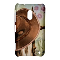 Hat On The Fence Nokia Lumia 620 Hardshell Case