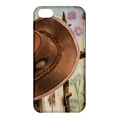 Hat On The Fence Apple iPhone 5C Hardshell Case