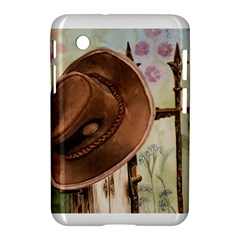 Hat On The Fence Samsung Galaxy Tab 2 (7 ) P3100 Hardshell Case