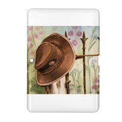 Hat On The Fence Samsung Galaxy Tab 2 (10.1 ) P5100 Hardshell Case