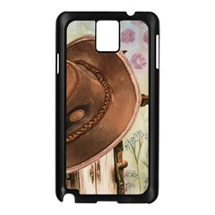Hat On The Fence Samsung Galaxy Note 3 N9005 Case (black)