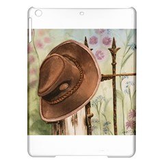 Hat On The Fence Apple Ipad Air Hardshell Case