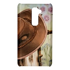 Hat On The Fence LG G2 Hardshell Case