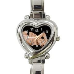 Gentle Embrace Heart Italian Charm Watch