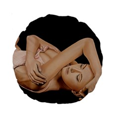 Gentle Embrace 15  Premium Round Cushion