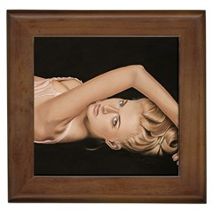 Alluring Framed Ceramic Tile