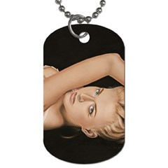 Alluring Dog Tag (two Sided)