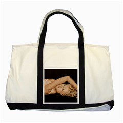 Alluring Two Toned Tote Bag