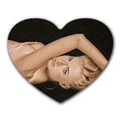 Alluring Mouse Pad (Heart)