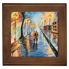 Just The Two Of Us Framed Ceramic Tile