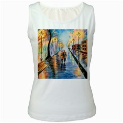 Just The Two Of Us Women s Tank Top (White)