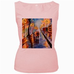 Just The Two Of Us Women s Tank Top (Pink)