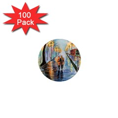 Just The Two Of Us 1  Mini Button Magnet (100 pack)