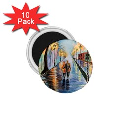Just The Two Of Us 1.75  Button Magnet (10 pack)