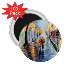 Just The Two Of Us 2.25  Button Magnet (100 pack)