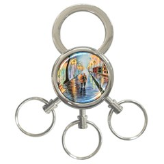 Just The Two Of Us 3-Ring Key Chain