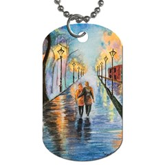 Just The Two Of Us Dog Tag (One Sided)