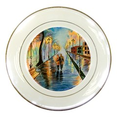Just The Two Of Us Porcelain Display Plate