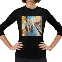 Just The Two Of Us Women s Long Sleeve T-shirt (Dark Colored)