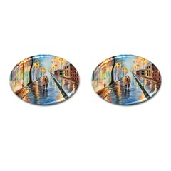 Just The Two Of Us Cufflinks (oval)