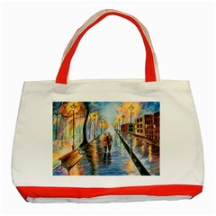 Just The Two Of Us Classic Tote Bag (Red)