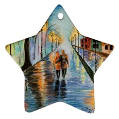 Just The Two Of Us Star Ornament (Two Sides)