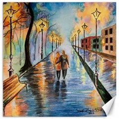 Just The Two Of Us Canvas 12  x 12  (Unframed)