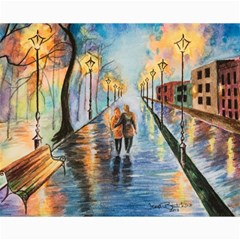 Just The Two Of Us Canvas 16  X 20  (unframed)