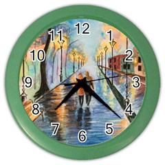 Just The Two Of Us Wall Clock (color)