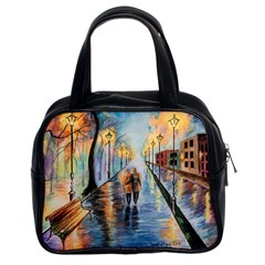 Just The Two Of Us Classic Handbag (Two Sides)