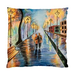 Just The Two Of Us Cushion Case (Two Sided)