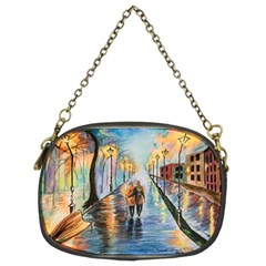 Just The Two Of Us Chain Purse (two Sided)