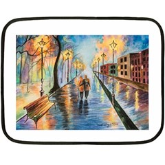Just The Two Of Us Mini Fleece Blanket (Two Sided)