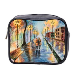 Just The Two Of Us Mini Travel Toiletry Bag (Two Sides)